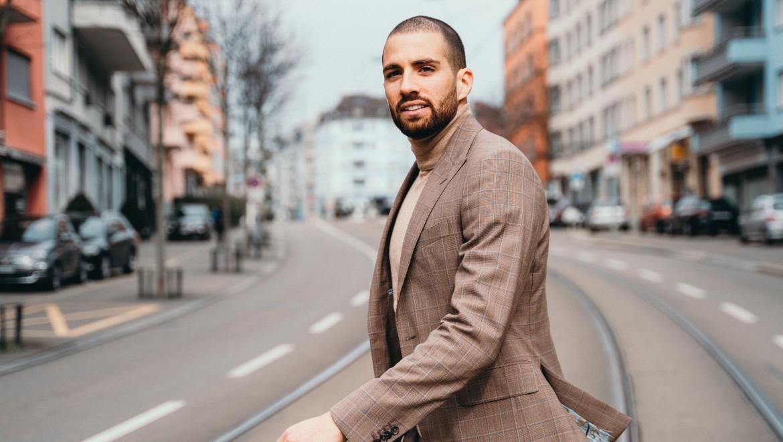 Kariem Hussein ist Hürdenläufer, Arzt und Unternehmer